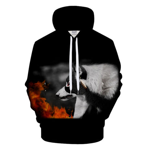 sweat homme indien loup