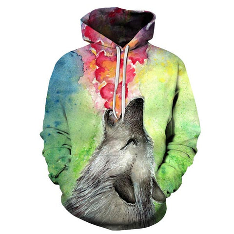 sweat loup homme
