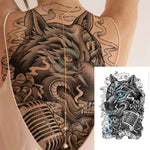 Tattoo loup old school