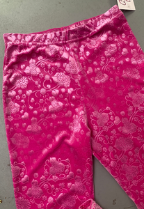 PINK FLOWER FLARES (04) - HISSY FIT CLOTHING LTD