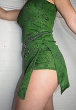 Load image into Gallery viewer, GREEN GLITTER HISSY SHORTS - HISSY FIT CLOTHING LTD