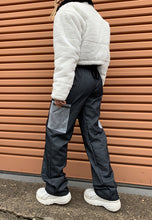 Load image into Gallery viewer, GLITTER DENIM CARGO PANTS - HISSY FIT CLOTHING LTD