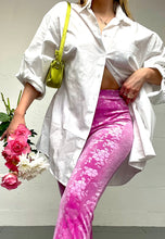 Load image into Gallery viewer, PINK FLOWER FLARES (ORIGINAL) - HISSY FIT CLOTHING LTD