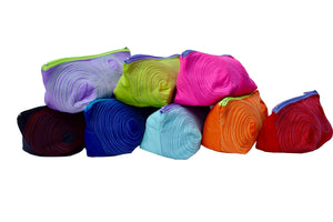 big zippered pouches (assorted colours)