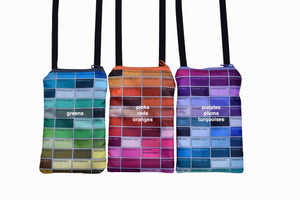 neck pouches - pantone
