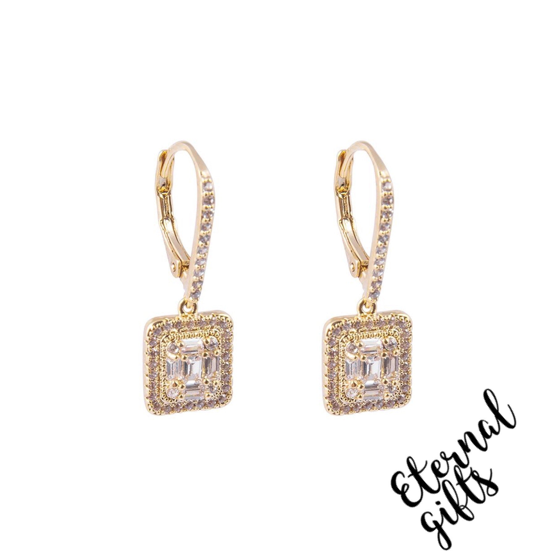 Isabella Gold Earrings -Knight and Day