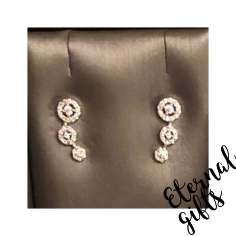 Sterling Silver Climbing/Crawler Earrings SE192Sl Absolute Jewellery