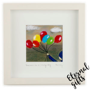 Balloons On A Grey Day- Dink Studio