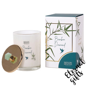 Bamboo Diamond Scented Candle- Mindy Brownes Interiors