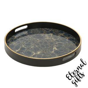Serving Tray- Deep Blue- Mindy Brownes Interiors