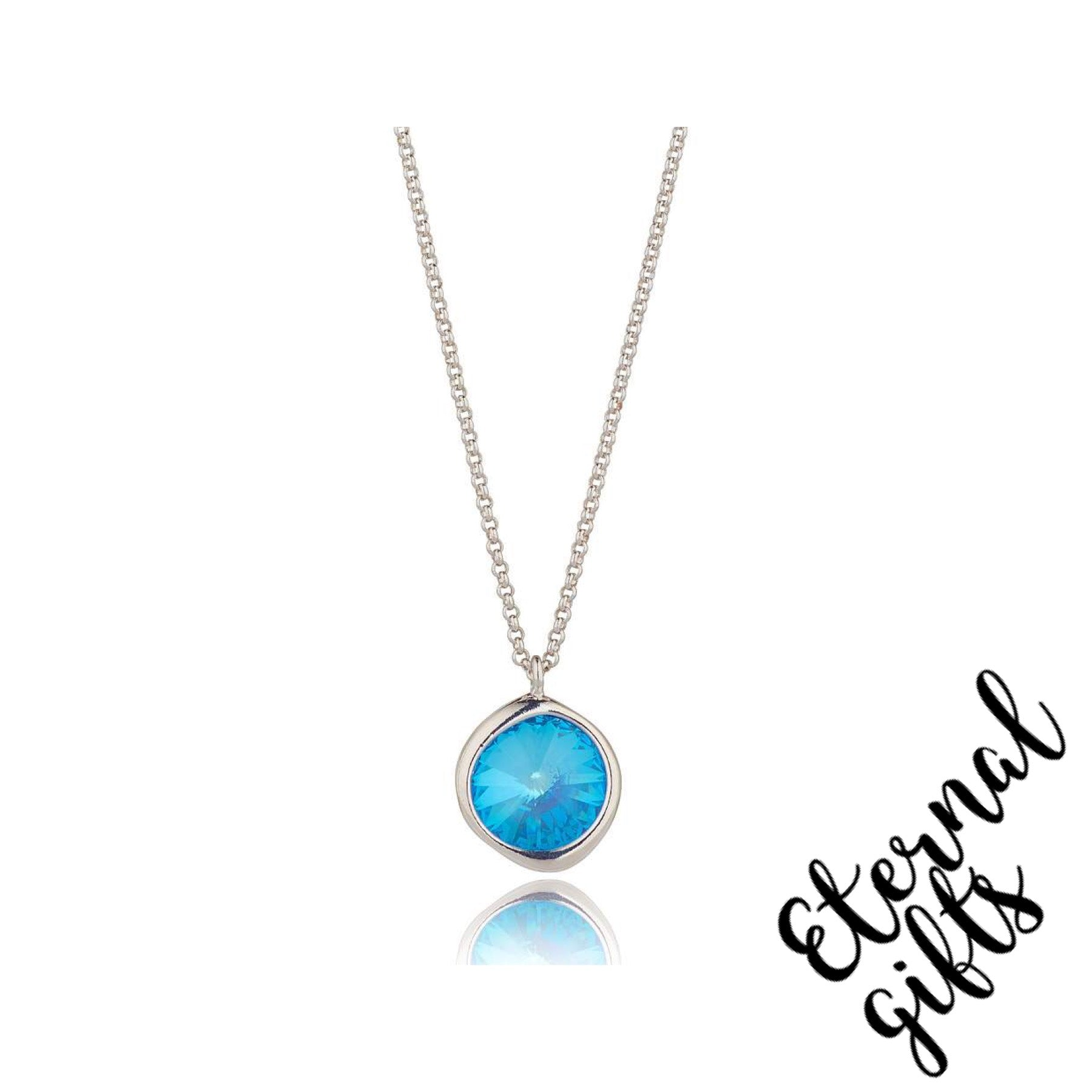 Ocean Blue Delite Short Necklace - Knight and Day