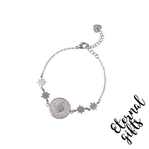 Esme Silver Bracelet- Knight and Day Jewellery