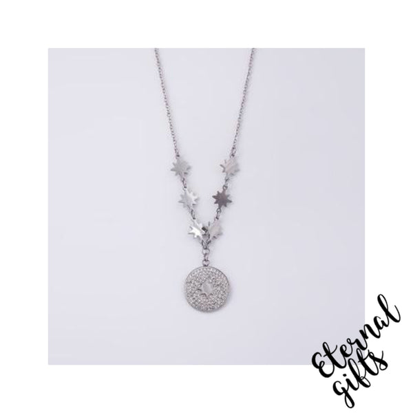 Esme Silver Necklace - Knight and Day Jewellery