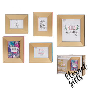 Harper Frame Set/5 ( HUA095) Mindy Brownes Interiors