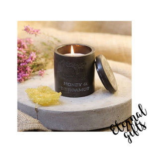 Honey & Bergamot Urban Candle- Rowan Beg