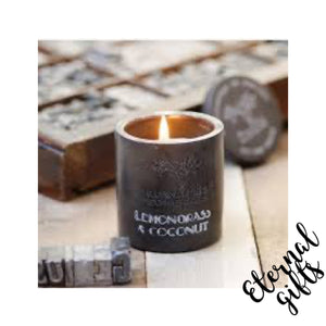 Lemon and Coconut Urban Collection Candle - Rowan Beg