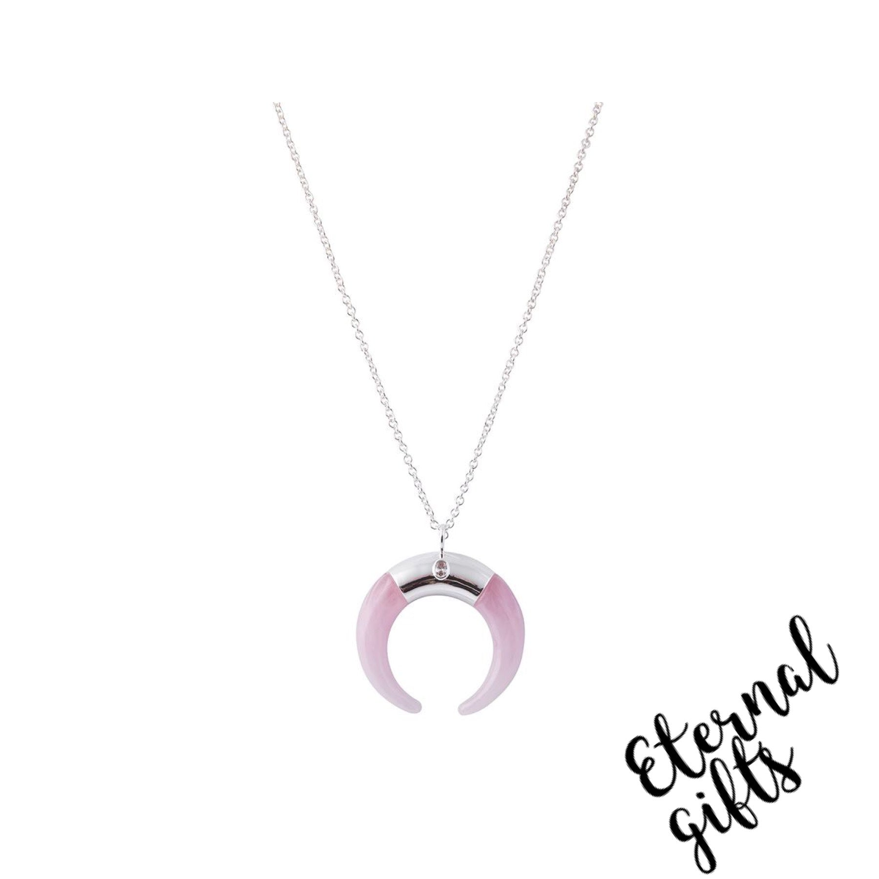 Pink Mina Neclace- Knight and Day