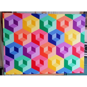 'Imperfectly Perfect' Geometric Print - Nickie Harrington Art