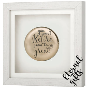 Framed Occasions-Retirement Plaque- Genesis