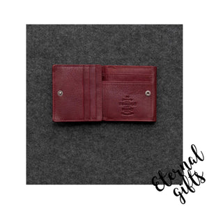 Newton leather small wallet purse by Tumble and Hide