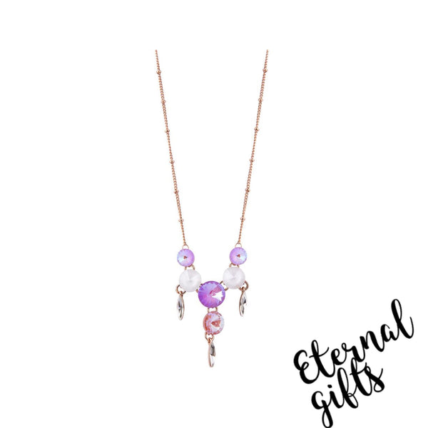 Summer Pinks Necklace- Knight and Day