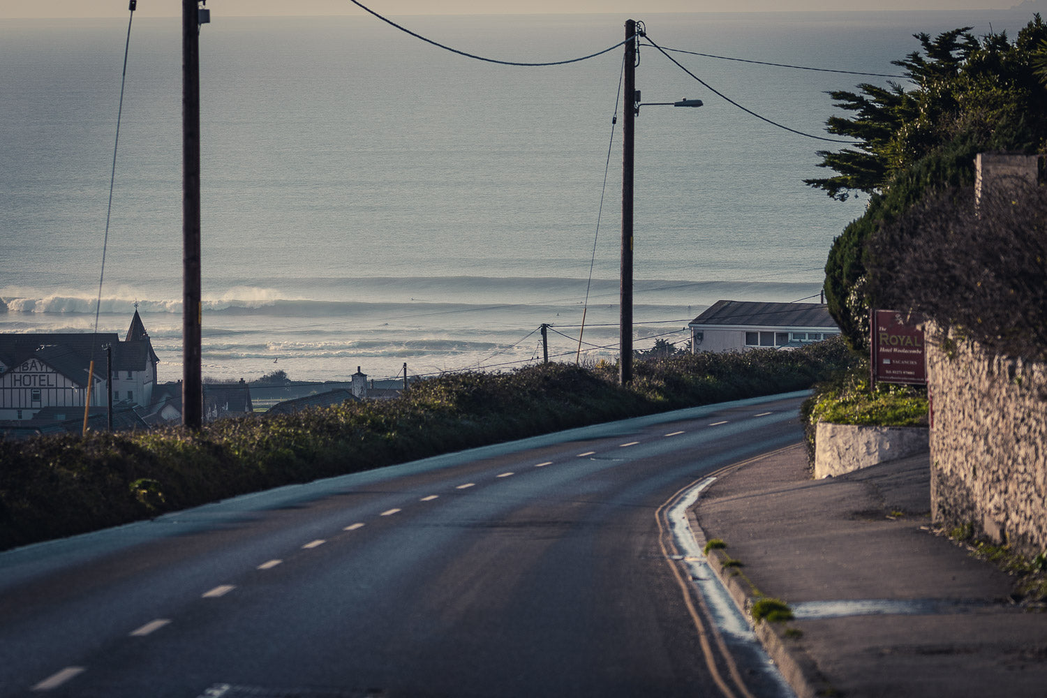 road to surfing