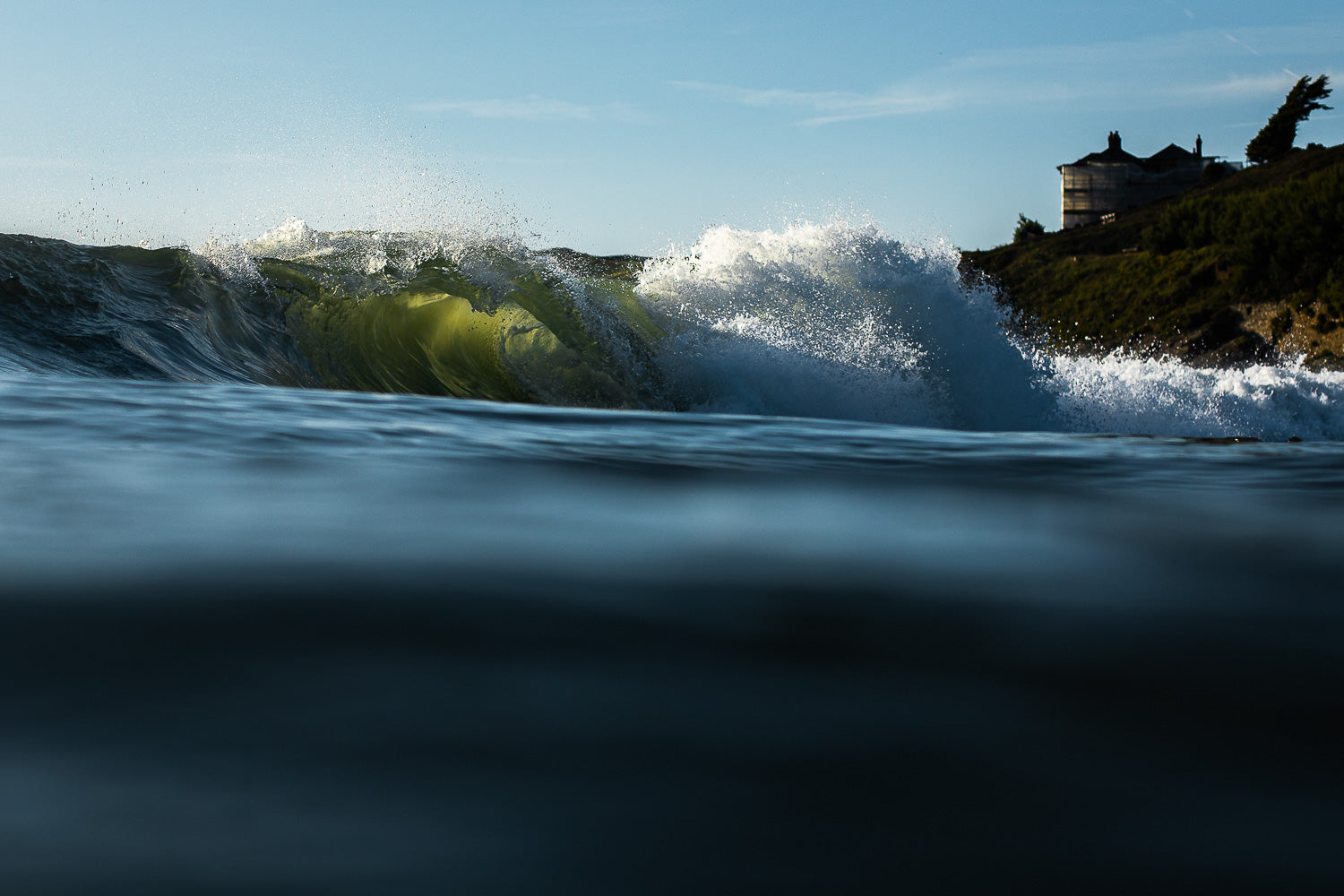 Wave photography Croyde surfing