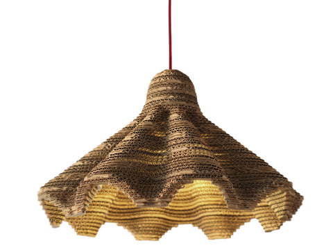 eetico | ITALIANA 54 pendant lamp. Italian handmade papers creation. Design by Antonio Pascale.