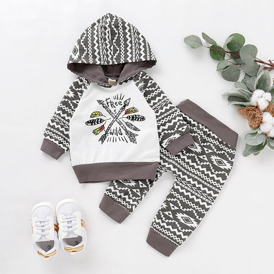 Geometric Free Spirit Jogger Set