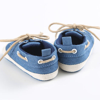 Baby Boy Soft Sole Boat Shoes