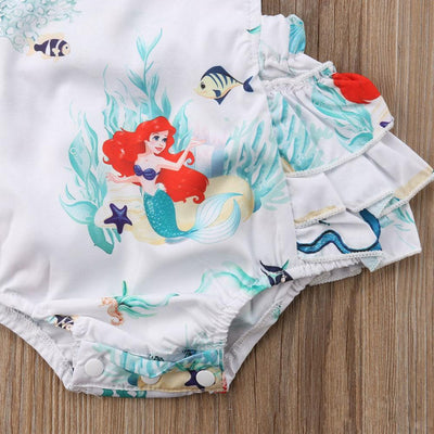 2pc Little Mermaid Romper