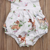 2pc Ruffled Disney Bambi Romper