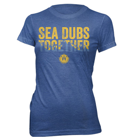 Sea Dubs Together Ladies Tee