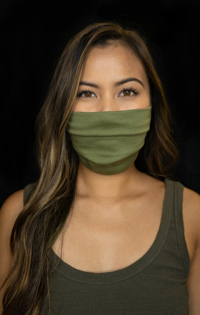 ARMY GREEN HIFI MASKS (ALL SALES FINAL) Utility Hawaii's Finest