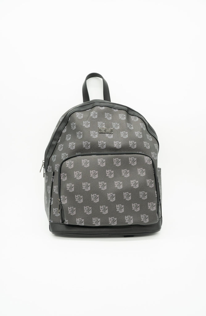 BLACK SPLIT LOGO BACKPACK Bags Hawaii's Finest