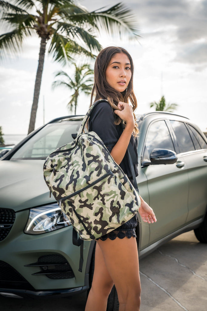 CAMO BACKPACK Bags Hawaii's Finest