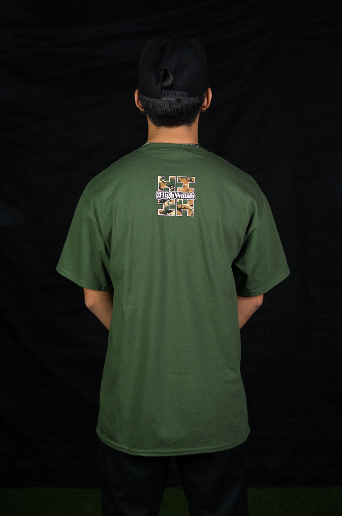 CAMO HIGH WATAH T-SHIRT Shirts Hawaii's Finest