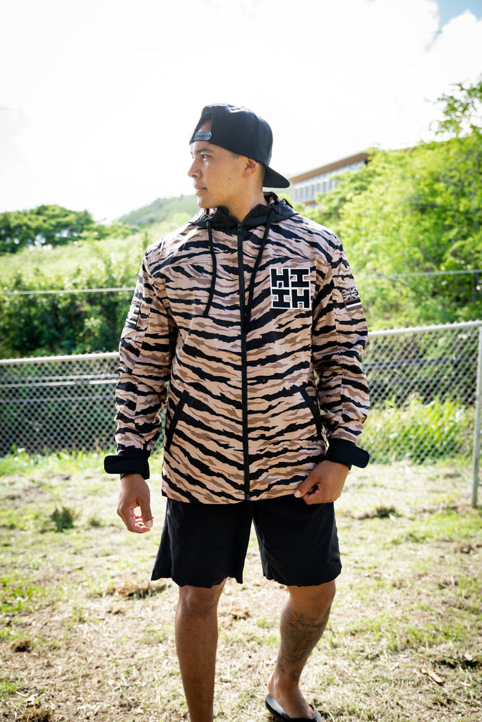DESERT CAMO SIMPLE LOGO MILITARY JACKET Jacket Hawaii's Finest XSMALL
