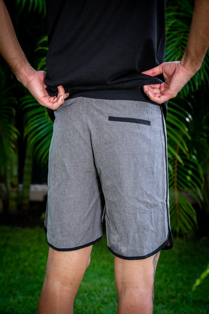 GRAY HIFI PERFORMANCE BOARDSHORTS Shorts Hawaii's Finest