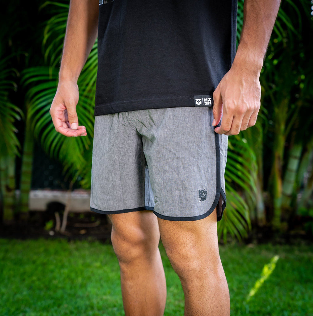 GRAY HIFI PERFORMANCE BOARDSHORTS Shorts Hawaii's Finest 28