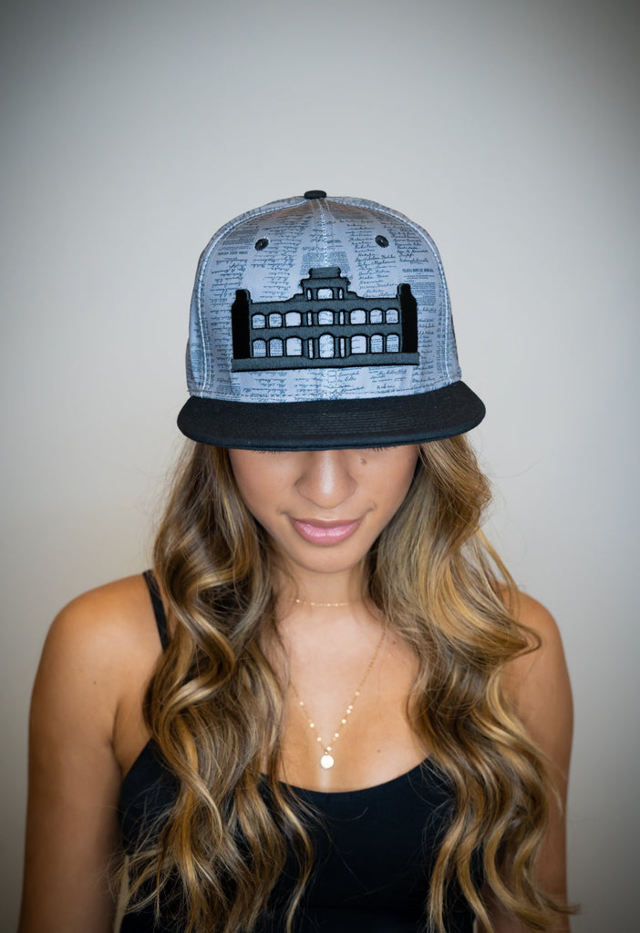 GRAY SIGNATURE PALACE HAT HAT Hawaii's Finest