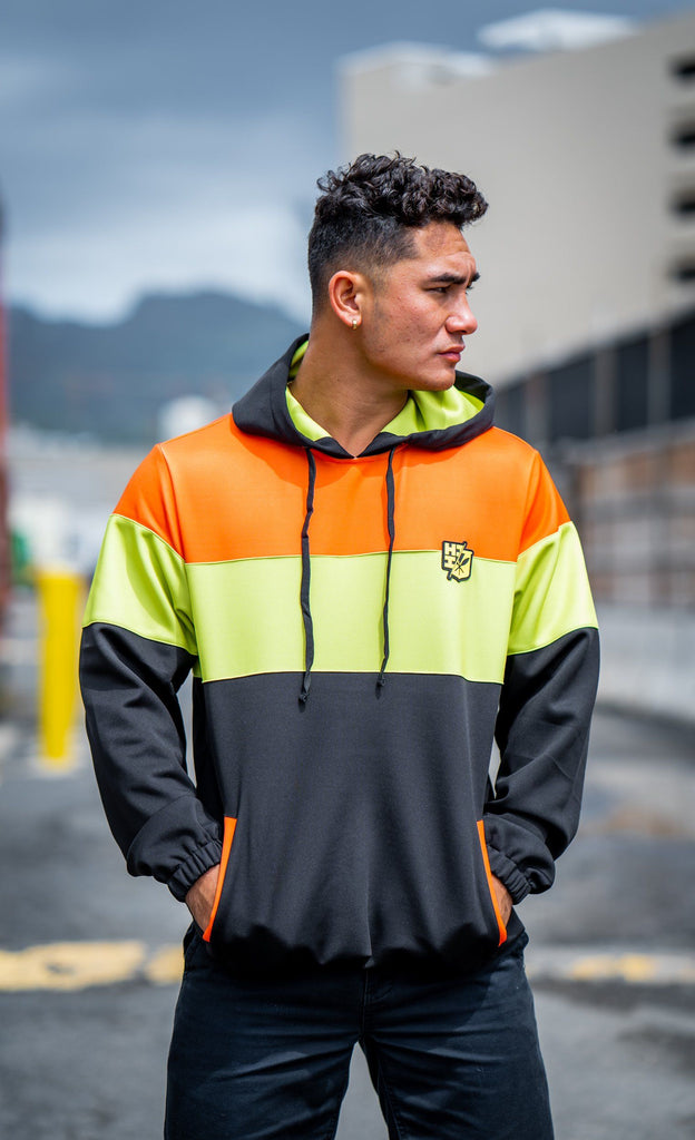 HI-VIS SERIES HOODIE Jacket Hawaii's Finest Small