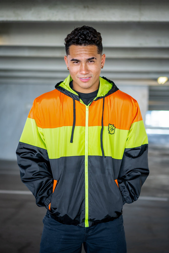 HI-VIS SERIES WINDBREAKER Jacket Hawaii's Finest Small