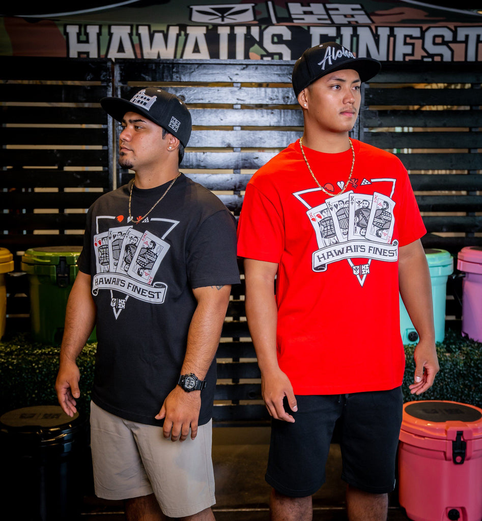 MEN'S RED KINGS T-SHIRT Shirts Hawaii's Finest