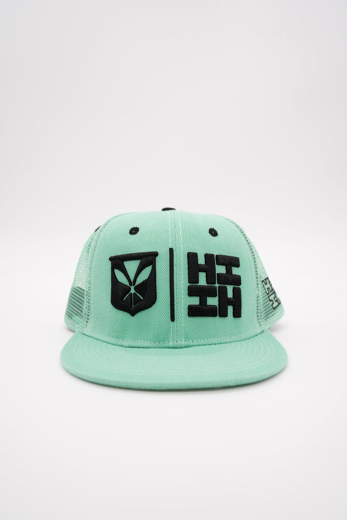 MINT SIMPLE LOGO HAT HAT Hawaii's Finest