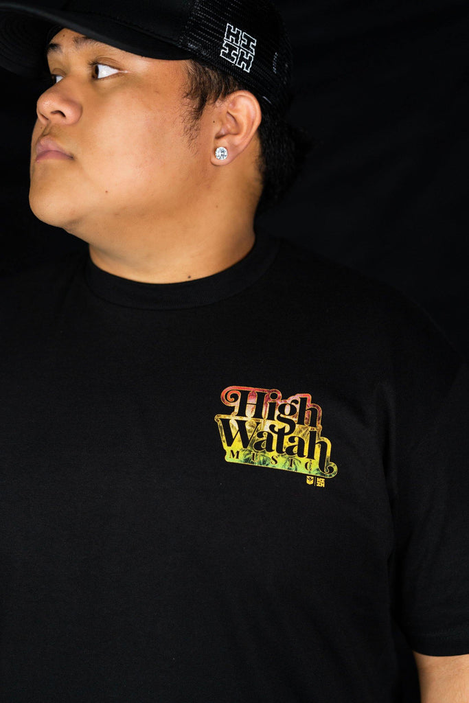 RASTA HIGH WATAH T-SHIRT Shirts Hawaii's Finest Small
