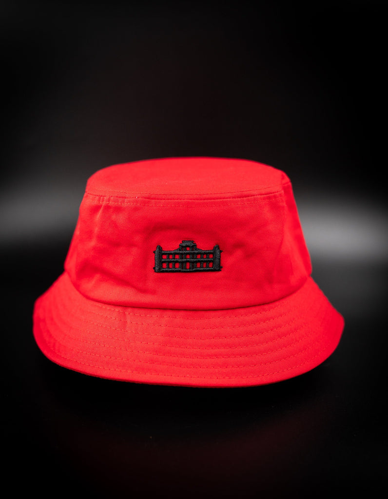 RED & BLACK PALACE BUCKET HAT HAT Hawaii's Finest