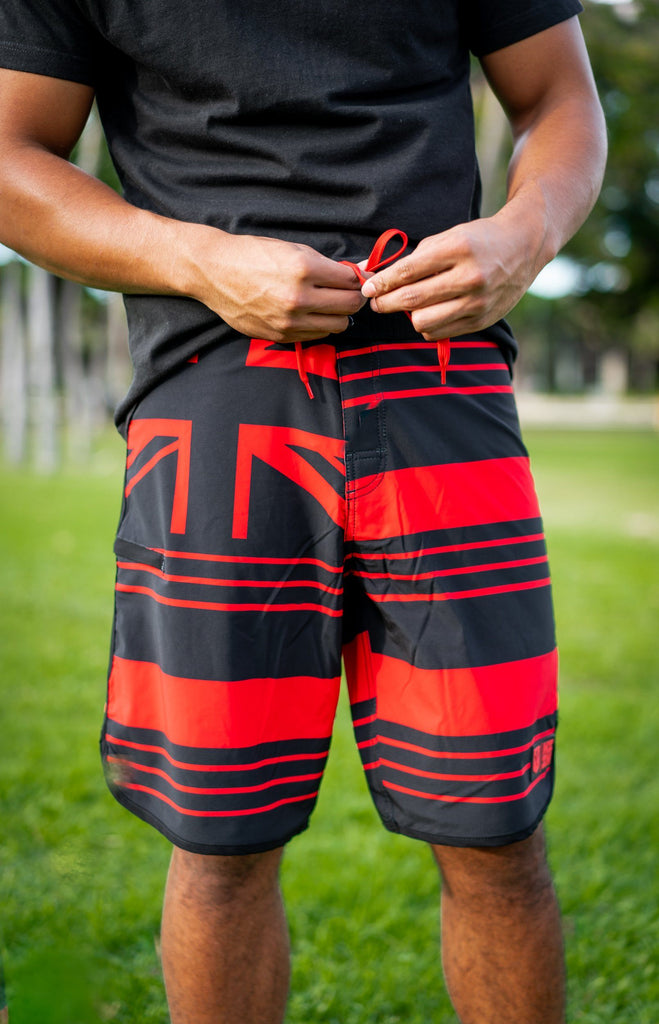 RED FLAG MINI COLLECTION BOARDSHORTS Shorts Hawaii's Finest 28