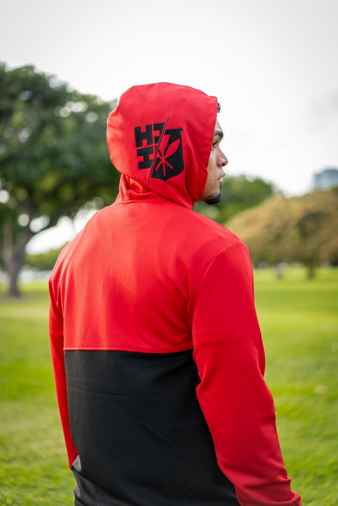 RED FLAG MINI COLLECTION HOODIE Jacket Hawaii's Finest