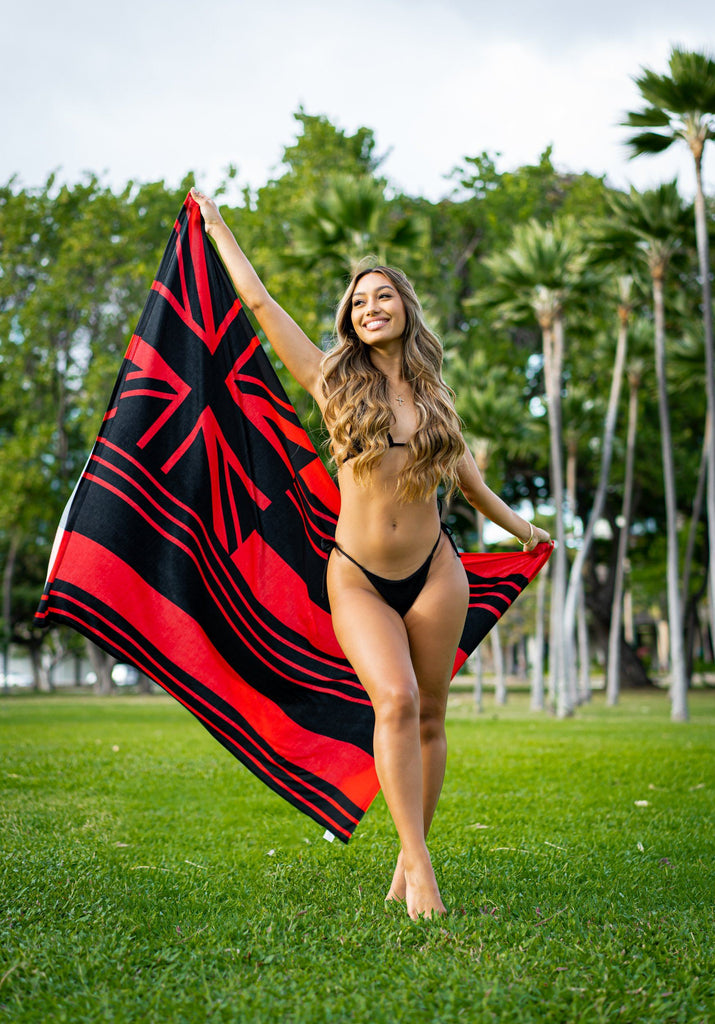 RED FLAG MINI COLLECTION PAREO Pareo Hawaii's Finest